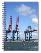 Gothenburg Harbour 12 Spiral Notebook