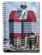 Gothenburg Utkiken Tower 06 Spiral Notebook