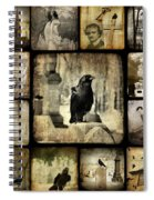 Gothic And Crows Spiral Notebook