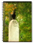 Gothic Autumn Spiral Notebook