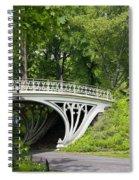 Gothic Bridge In Central Park Spiral Notebook