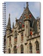 Gothic Bruges Spiral Notebook