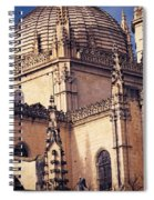 Gothic Cathedral Spiral Notebook