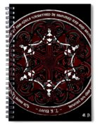 Gothic Celtic Mermaids Spiral Notebook