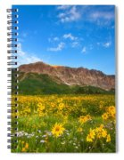 Gothic Meadow Spiral Notebook