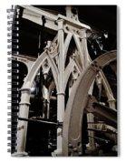 Gothic Power Spiral Notebook