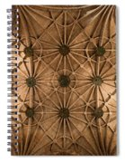 Gothic Ribbed Vault Of Jeronimos Monastery Church Spiral Notebook