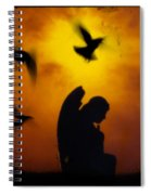 Gothic Silhouette Spiral Notebook