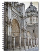 Gothic Splendor Of Spain Spiral Notebook