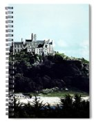 Gothic St Michael's Mount Cornwall Spiral Notebook