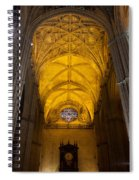 Gothic Vault Of The Seville Cathedral Spiral Notebook