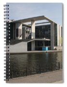 Government Building  Berlin  Spiral Notebook