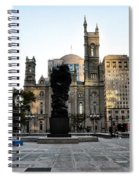 Government Of The People Statue Spiral Notebook