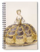 Gown Suitable For Presentation Spiral Notebook
