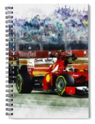 Gp Singapore F1  Spiral Notebook