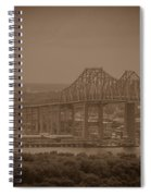 Grace And Pearman Bridges Spiral Notebook