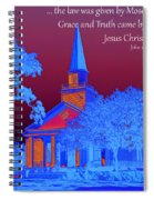 Grace And Truth Spiral Notebook