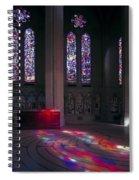 Grace Cathedral Walking Labyrinth - San Francisco Spiral Notebook
