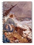Grace Darling And Her Father Saving Spiral Notebook