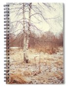Grace In The Snow. Winter Poems Spiral Notebook