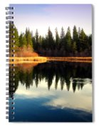 Grace Lake Northern California Spiral Notebook