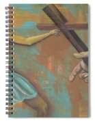 'grace Was Given' Spiral Notebook
