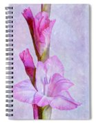 Grace With Textures Spiral Notebook