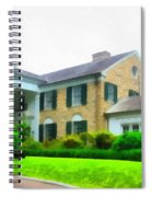 Graceland Mansion Spiral Notebook