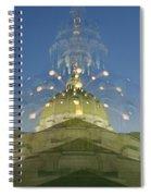 Gradient Zoom Spiral Notebook