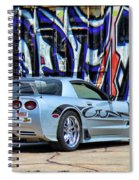 Graff Vette Spiral Notebook