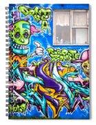 Graffiti Spiral Notebook