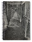 Graffiti Alley Spiral Notebook
