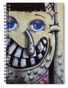 Graffiti Art Buenos Aires 1 Spiral Notebook