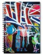 Graffiti Art Spiral Notebook