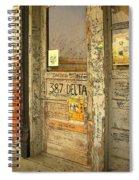 Graffiti Door - Ground Zero Blues Club Ms Delta Spiral Notebook