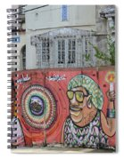 Graffiti In Salvador Spiral Notebook
