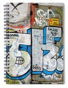 Graffiti In Sozopol Spiral Notebook