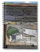 Graffiti In Veliko Tarnovo  Spiral Notebook