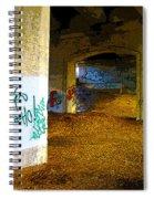 Graffiti Under The Bridge Spiral Notebook