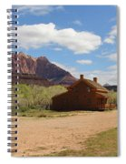 Grafton Utah Butch Cassidy Movie Set Panorama Spiral Notebook