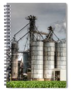 Grain Elevators Spiral Notebook