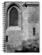 Granada Cathedral Monochrome Spiral Notebook