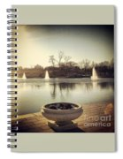 Grand Basin In Forest Park Spiral Notebook