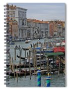 Grand Canal From Rialto Bridge Spiral Notebook