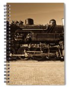 Grand Canyon 29 Railway Engine Spiral Notebook