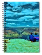 Grand Canyon # 7 - Hopi Point Spiral Notebook