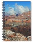 grand Canyon After the Snow Spiral Notebook