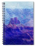 Grand Canyon As A Painting 2 Spiral Notebook