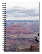 Grand Canyon Awaiting Snowstorm Spiral Notebook