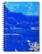 Grand Canyon Blues Spiral Notebook